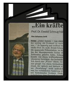 Goslarsche Zeitung - Goslar statt England