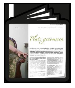 Quadrat 04-2014 Interview Ginka Steinwachs